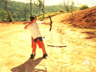 Arco e Flecha | Acampamento Aruanã