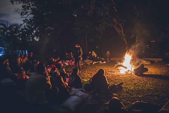 Fogueira | Temporada de Férias Acampamento Aruanã